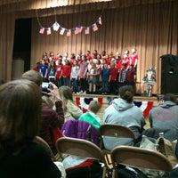 Photo taken at Roosevelt Elementary School by Vivian W. on 3/20/2014
