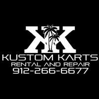 Image result for kustom cart rentals logo st simons
