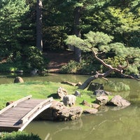 Photo taken at Shofuso Japanese House and Garden by Carina C. on 9/14/2016