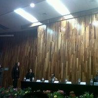 Photo taken at Auditorio Salvador Allende by Alex G. on 3/9/2013