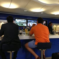 Photo taken at Delta Sky Club by Jeff H. on 6/2/2013
