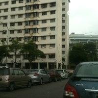 Photo taken at Block 21 Taman Bukit Angkasa by Shafiq S. on 1/13/2013