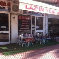 Photo taken at Laz'ın Yeri Balık Evi by Dilek Ö. on 1/8/2013