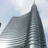 Photo taken at Unicredit Tower by Andrea R. on 4/6/2013