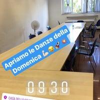 Photo taken at Casa dello Studente by ANDREA M. on 7/2/2017