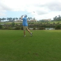 Photo taken at Doral Park Golf & Country Club by Melanie N. on 9/21/2013