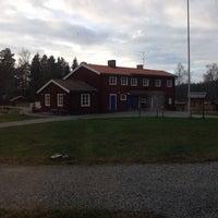 Photo taken at Domaruddens Friluftsgård by Sebastian E. on 11/8/2013