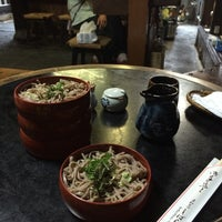 Photo taken at そば処 志ばらく by Shin K. on 6/29/2014