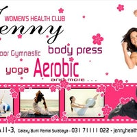 Photo taken at JENNY Women's Health Club by Johan Y. on 12/6/2012