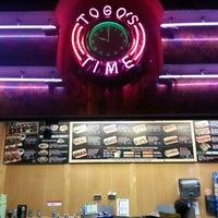 Photo taken at TOGO'S Sandwiches by DK U. on 12/1/2012
