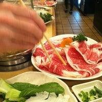 Photo taken at Shabu Zen by Foodie P. on 1/10/2013