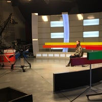 Photo taken at Телецентр Института журналистики БГУ by Valeri N. on 10/19/2016