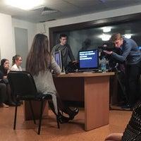 Photo taken at Телецентр Института журналистики БГУ by Valeri N. on 3/16/2017