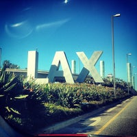 Photo taken at LAX Sign by Stephen R. on 2/28/2013