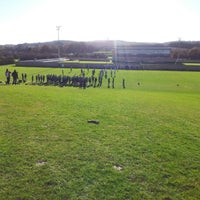 Photo taken at Holywell IV Pitch by Dave G. on 11/25/2012
