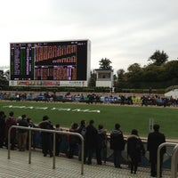 Photo taken at Nakayama Racecourse by Mitsue T. on 12/2/2012