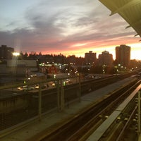 Photo taken at Lougheed Town Centre SkyTrain Station by Audrey V. on 1/17/2013
