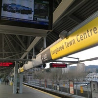 Photo taken at Lougheed Town Centre SkyTrain Station by Audrey V. on 3/27/2013
