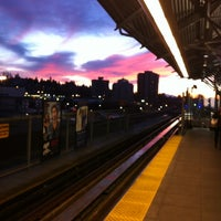 Photo taken at Lougheed Town Centre SkyTrain Station by Audrey V. on 1/2/2013