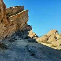Photo taken at Vasquez Rocks Park by Nick C. on 1/16/2013
