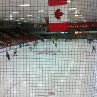 Photo taken at Walter Brown Arena by Kristen R. on 12/7/2012