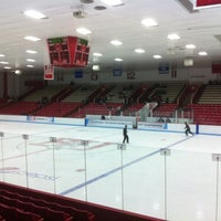 Photo taken at Walter Brown Arena by Kristen R. on 3/16/2013