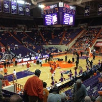 Photo taken at Littlejohn Coliseum by Mike S. on 11/29/2012