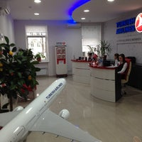 Photo taken at Turkish Airlines by Василь Б. on 2/4/2014