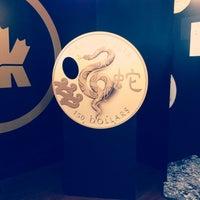 Photo taken at Royal Canadian Mint by Kholoud A. on 3/22/2013