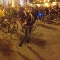 Photo taken at Велозаезд by Kseniya T. on 5/16/2014