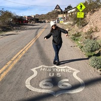 Photo taken at Oatman, AZ by Michel P. on 1/26/2017
