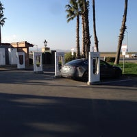 Photo taken at Tesla Supercharger Station by Thomas W. on 11/24/2013