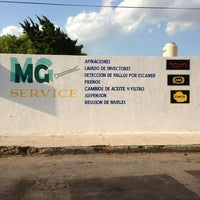 Photo taken at MG SERVICE Taller Automotriz by Ruben S. on 4/9/2013