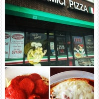 Photo taken at Due Amici Pizzeria by Jay S. on 4/6/2014