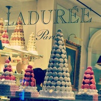 Photo taken at Ladurée by Bethany W. on 9/22/2012
