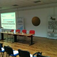 Photo taken at Ekonomski fakultet by Igor T. on 3/7/2013