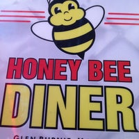 Photo taken at Honey Bee Diner by Reva T. on 2/18/2013