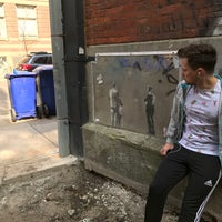 Photo taken at Banksy by Marcel R. on 5/13/2017