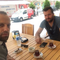 Photo taken at Gülce Sarıyer Börek Evi by Ertuğrul E. on 7/26/2017