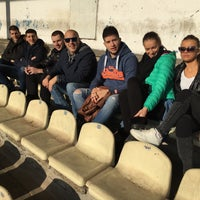 Photo taken at Omladinski stadion   OFK Beograd by Milos S. on 12/12/2015