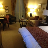 Photo taken at Corinthia Hotel Budapest by misunka on 2/7/2013