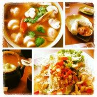 Photo taken at Lao Vientiane Restaurant by Robin C. on 11/24/2012