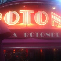 Photo taken at La Rotonde by Guillaume d. on 10/27/2012