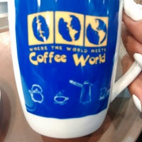 Photo taken at Coffee World by Petr26 on 10/7/2014