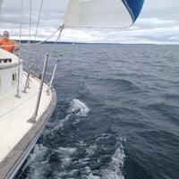 Photo taken at West Arm Grand Traverse Bay by Hans S. on 8/31/2014