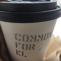 Photo taken at Common Man Coffee Roaster KL by Annie L. on 7/1/2017