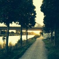 Photo taken at Mittellandkanal by Robert H. on 9/28/2013