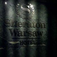 Photo taken at Sheraton Warsaw Hotel by Siri C. on 5/26/2013