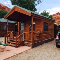 Photo taken at Moab Valley Rv by Thomas G. on 5/15/2015