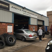 Photo taken at Andy's Tyre Services by Carl H. on 10/20/2016
